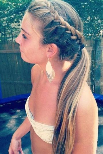 ponytails for prom8
