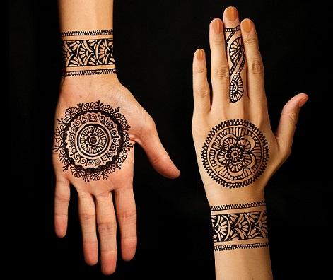 PARTY MEHNDI-Arabic Mehendi Designs