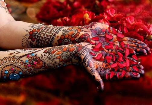 PARTY MEHNDI-Multi Coloured Mehendi DesignS