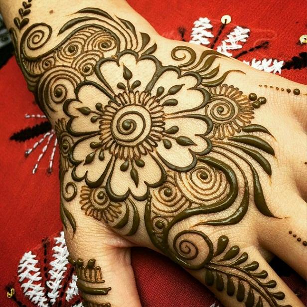 Mehandi Designs For Ramzan