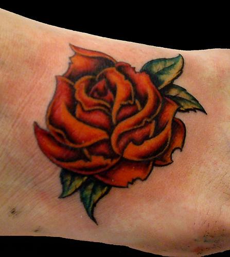 Appealing New School Tattoo Design