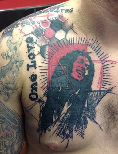 Celebrity Tattoo Trash Polka