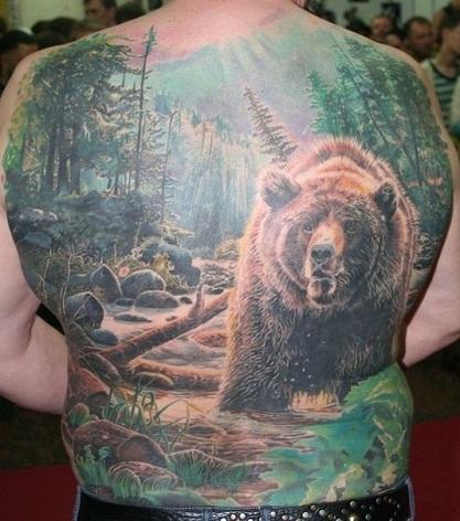 Nature themedPigment tattoo designs