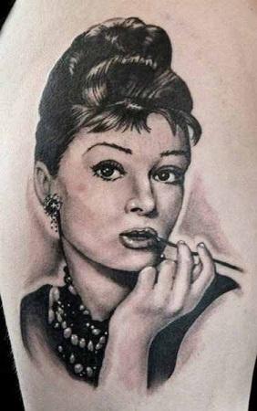 Celebrity Portrait Tattoo