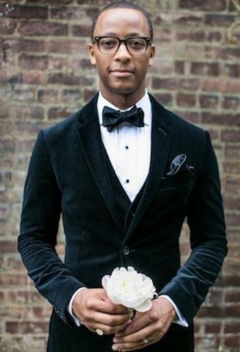 Velvet Wedding Blazer