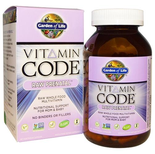 Garden of Life Vitamin Code, Raw Prenatal