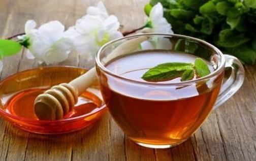 Herbal tea with Honey