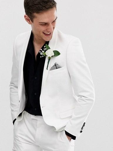 White Blazer for Wedding