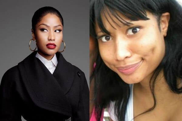Celebrity Nicky Minaj without Makeup