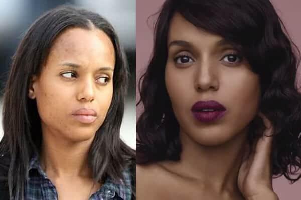 Kerry Washington without Makeup