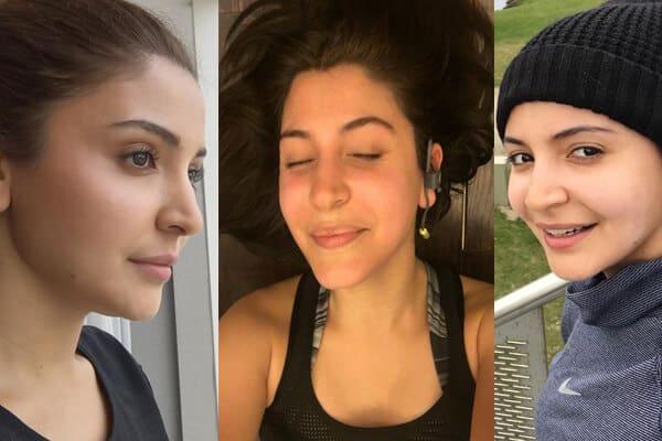 Anushka Sharma without Makeover