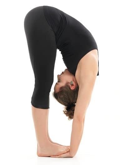 Hastapadasana yoga pose