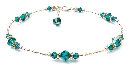 gold-anklets-designs-gold-with-jade-design