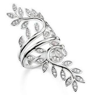 leaf-spreading-silver-ring