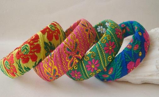 Cloth Handmade Bangles
