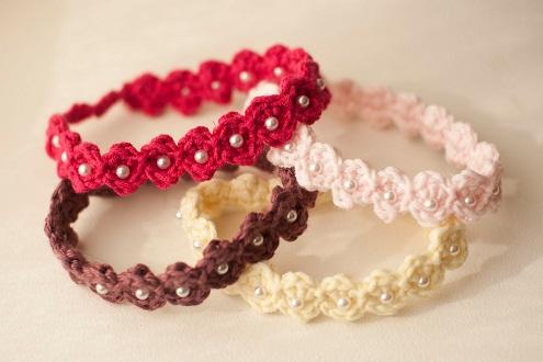 Crochet Handmade Bangles