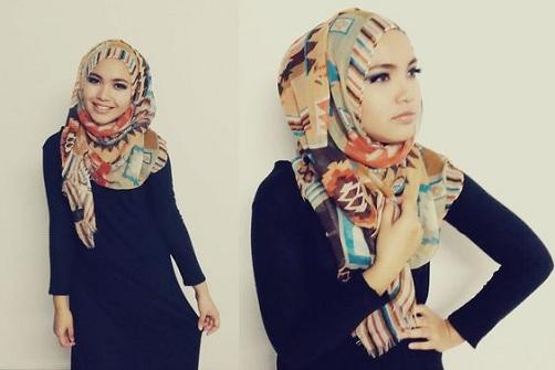 Long Hijab Style