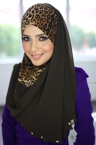 Animal Print Hijab