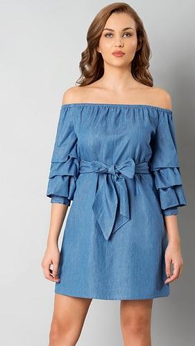 15 Fashionable Off Shoulder Dress Designs for Women