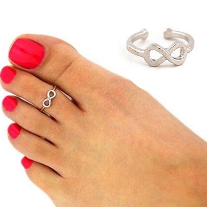infinity-toe-ring