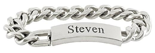 bracelets for men - personalised bracelets