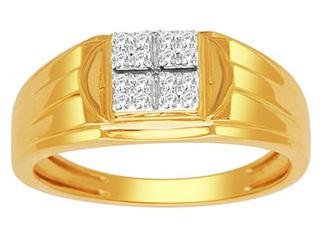 Gold Diamond Rings for Men