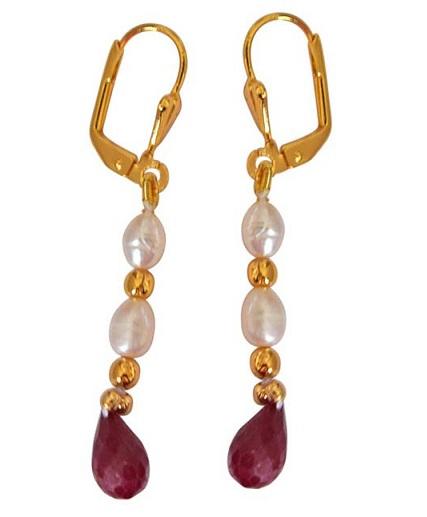 Cherry Earring Design in 2gm