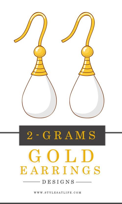 2 GRAM GOLD EARRINGS