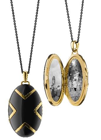 black-ceramic-golden-lockets