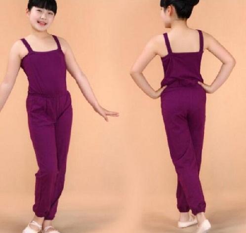 Plain Style Kid Jumpsuit