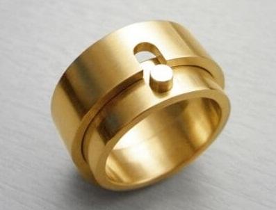 Inner Lock Couple Rings
