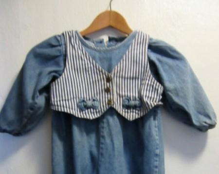 vintage-childs-denim-jumpsuits