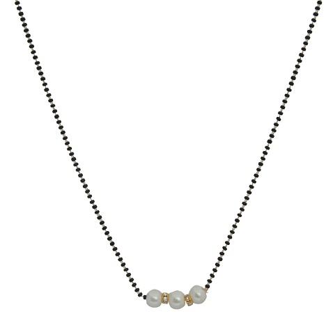 Single Layer Pearl Mangalsutra