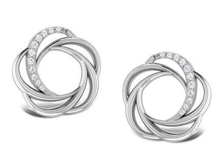 sparkling-whorl-platinum-earrings