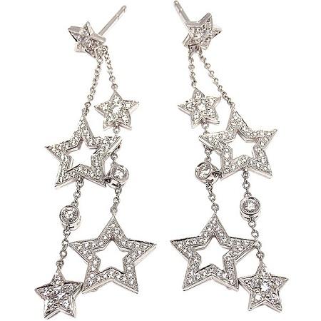 multi-drop-platinum-earrings