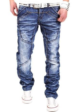 Denim Cargo Style Jeans for Men