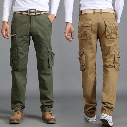 6 Pocket Unisex Cargo Jean