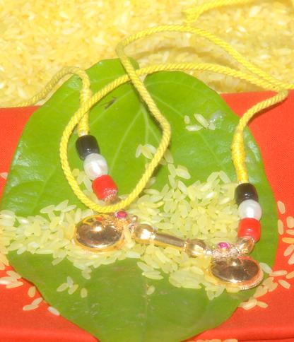 Coral Telugu mangalsutra
