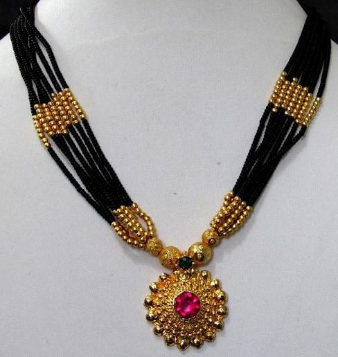 Indian Long Mangalsutra Design