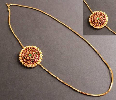 Muggapu Mangalsutra designed Chain