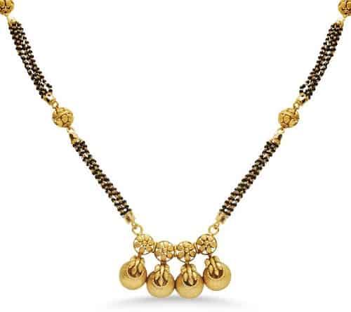 22k Gold North Indian Mangalsutra