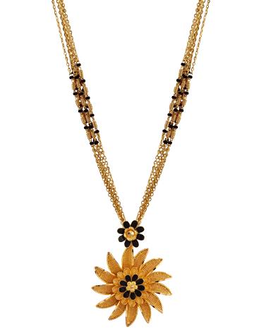 Sunflower Maharashtrian Mangalsutra