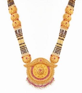 Gold Bold Maharashtrian Mangalsutra