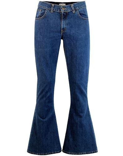 Men's Bell Bottom Jeans