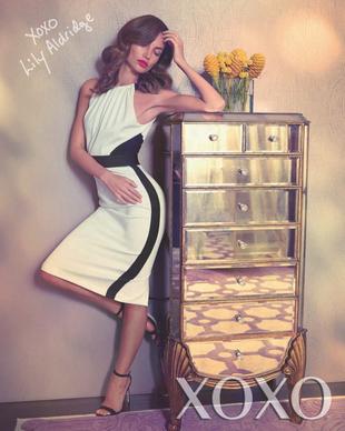 Lily Aldridge for XOXO Spring 2020 Campaign