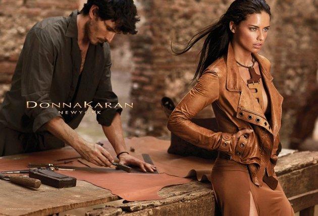Adriana Lima for Donna Karan Spring/Summer 2020 Campaign