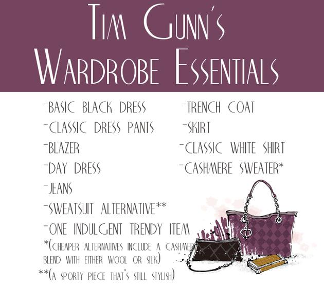 Best Tim Gunn Style Tips