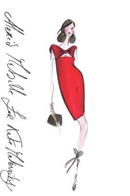 Top Designers Sketch Maternity Dresses for Kate Middleton