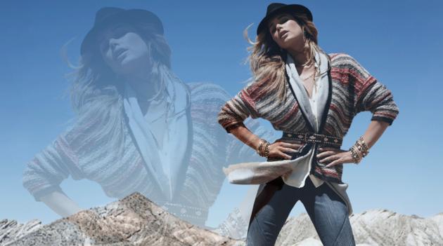 Doutzen Kroes for H&M Winter 2020 Campaign