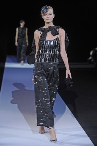 Giorgio Armani at Milan Fashion Week Fall 2020